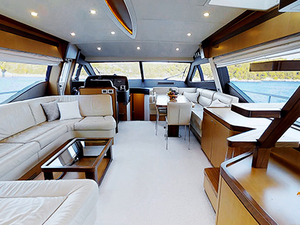 amb cruises m/y Amy inner view